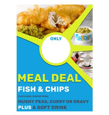 Meal Deal Poster - Fish & Chips