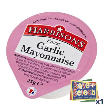 Garlic Mayonnaise Dips
