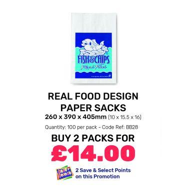Real Food Design - Paper Sacks - Special Offer