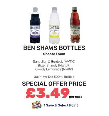Ben Shaws Bottles - Special Offer