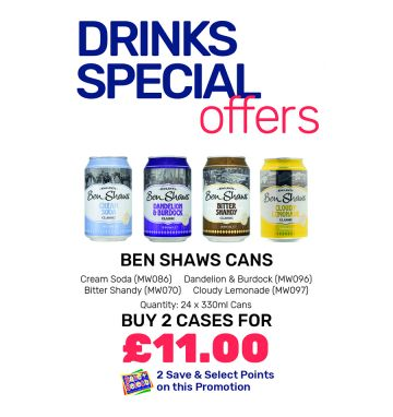 Ben Shaws Cans - Special Offers