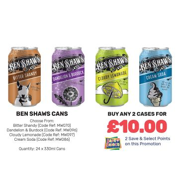 Ben Shaws Cans - Special Offer