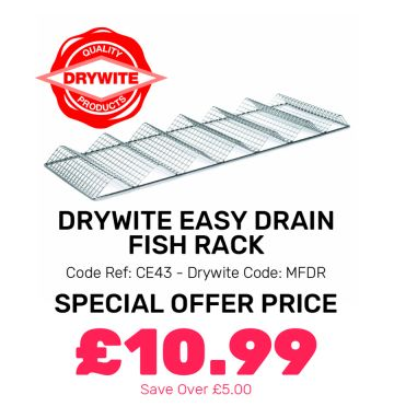 Drywite Easy Drain Fish Rack - Special Offer