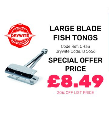 Large Blade Fish Tongs - Special Offer