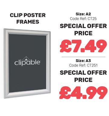 Clip Poster Frames - Special Offer