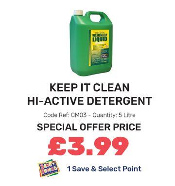 Keep It Clean Hi-Active Detergent - Special Offer