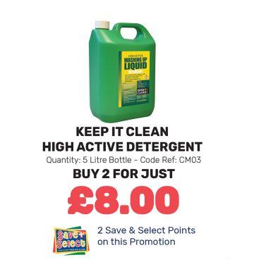 High Active Detergent - Special Offer