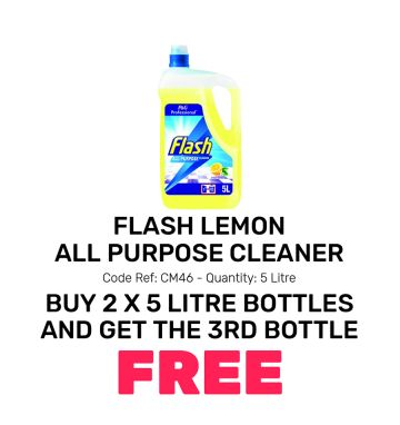 Flash Lemon All Purpose Cleaner - Special Offer