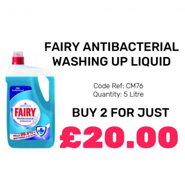 Fairy Antibacterial Washing Up Liquid - Special Offer