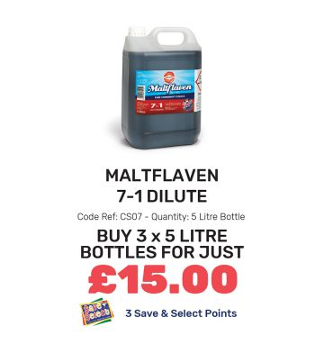 Maltflaven 7-1 Dilute - Special Offer
