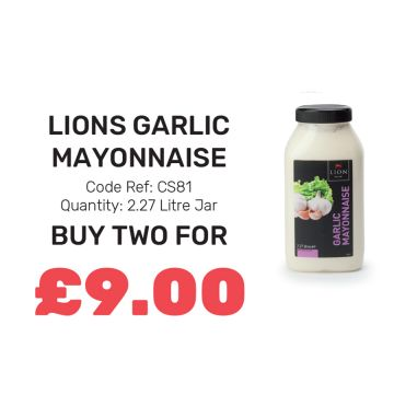 Lions Garlic Mayonnaise - Special Offer