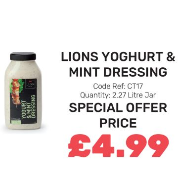 Lions Yoghurt & Mayonnaise - Special Offer