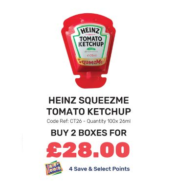 Heinz SqueezMe Tomato Ketchup - Special Offer