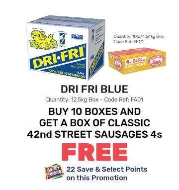 Dri Fri Blue - Special Offer