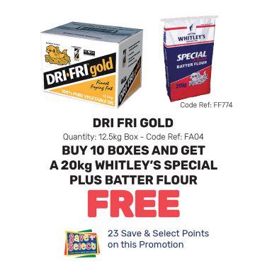 Dri Fri Gold - Special Offer