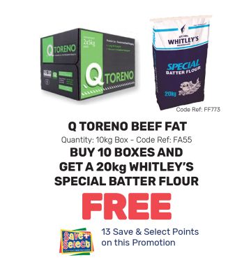 Q Toreno Beef Fat - Special Offer
