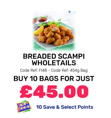 Breaded Scampi Wholetails