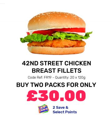 42nd Street Chicken Breast Fillets - Special Offer