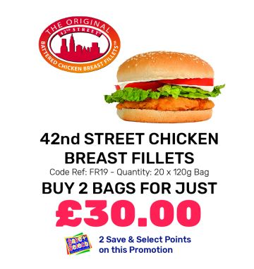 42nd Street Chicken Breast Fillets - Special Offer