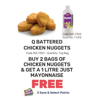 Q Battered Chicken Nuggets - Special Offer