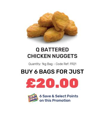 Q Battered Chicken Nuggets - Special Offers