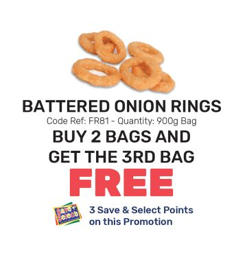 Battered Onion Rings - Special Offer