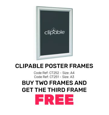Clipable Poster Frames - Special Offer