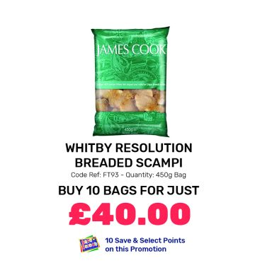 Whitby Resolution Breaded Scampi - Special Offer