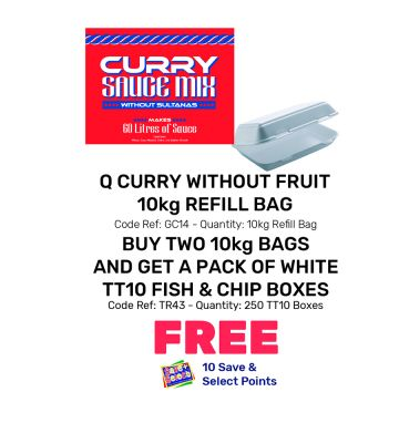 Q Curry Without Fruit Refill Bag - Special Offer