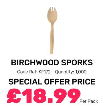 Birchwood Sporks - Special Offer