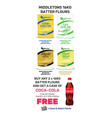 Middleton's Batters - Special Offer