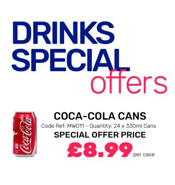 Coca-Cola Cans - Special Offer