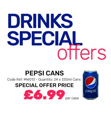 Pepsi Cans - Special Offer
