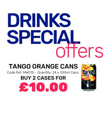 Tango Orange Cans - Special Offer