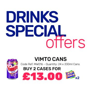 Vimto Cans - Special Offer