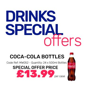 Coca-Cola Bottles - Special Offers