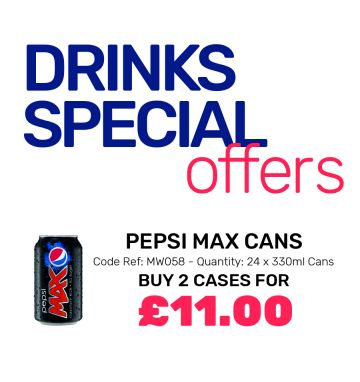 Pepsi Max Cans - Special Offer