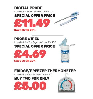 Probes and Thermometers - Special Offer