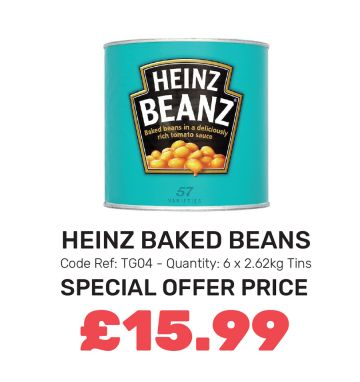 Heinz Baked Beans - Special Offer