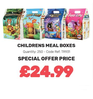 Children's Meal Boxes - Special Offer