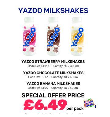 Yazoo Milkshakes