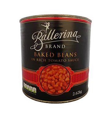 Ballerina Baked Beans