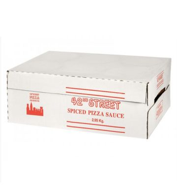 42nd Street Spiced Tomato Pizza Sauce