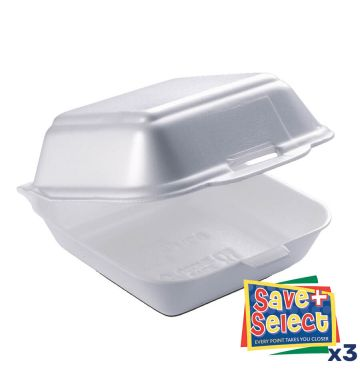 HP6 White Food Boxes