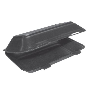TT10 Twin Tab Black Food Boxes