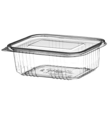 Clear Salad Containers - 500cc