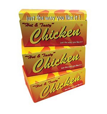 Hot Tasty Chicken Boxes - Large