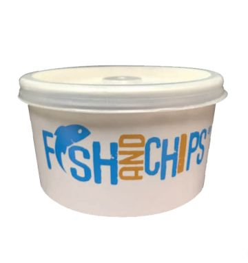 Hook & Fish 4oz Board Container