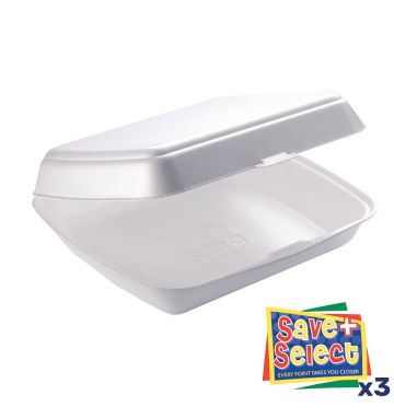 HP4 White Food Boxes
