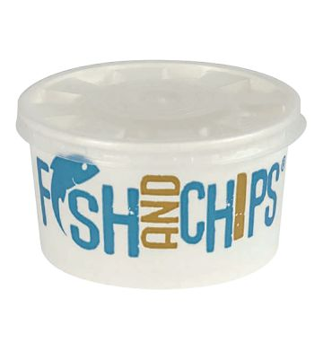 Hook & Fish 7oz Board Container and Lid